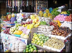 Candikuning Traditional Fruit Market