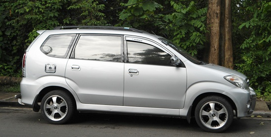 Toyota Avanza for Charter